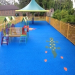 Outdoor Rubber Flooring Designs in Abermagwr 10