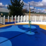 Outdoor Rubber Flooring Designs in Abermagwr 6