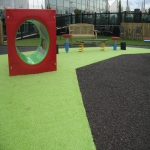 Rubber Grass Mat Flooring in Gloucestershire 7