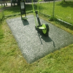Rubber Grass Mat Flooring in Gloucestershire 4
