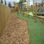 Rubber Grass Mat Flooring in Gloucestershire 2