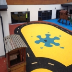 Outdoor Wetpour Rubber Flooring in Carmarthenshire 10