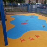 Outdoor Wetpour Rubber Flooring in Carmarthenshire 1