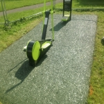 Synthetic Outdoor Carpet Installation in Llechryd 3