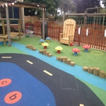 Outdoor Rubber Flooring Designs in St Mellons/Llaneurwg 4