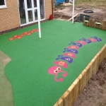 Outdoor Rubber Flooring Designs in Abermagwr 12