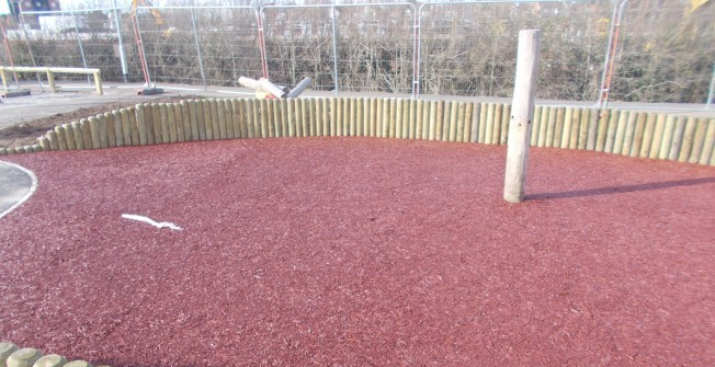 Rubber Surfacing Designs in Ashford Carbonell