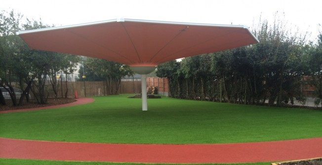 Synthetic Leisure Grass in Abdon