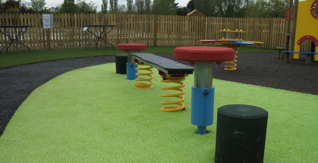 Playground Flooring Specialists in Ashford Carbonell