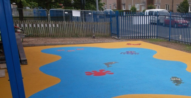 Recreational Play Surfaces in Abermagwr