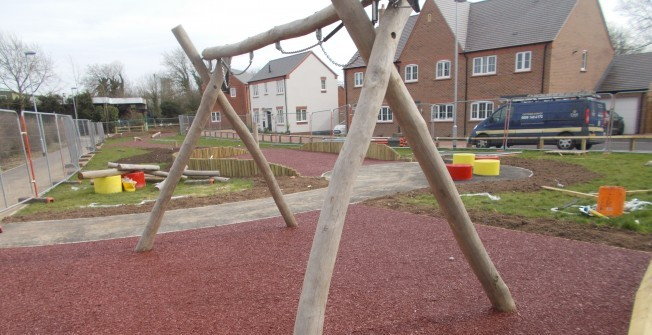 Rubber Mulch Flooring in Nottinghamshire