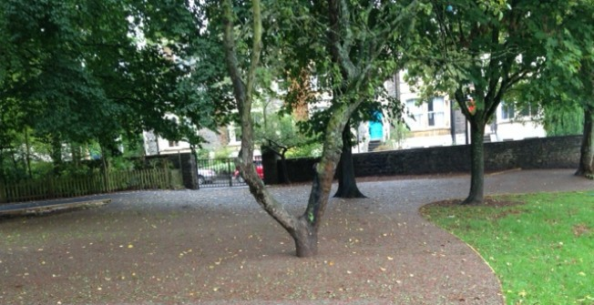 Rubber Mulch Surfaces in Abbeyhill