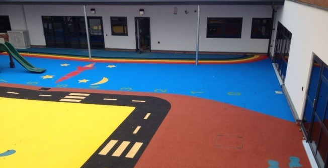 Wetpour Surfacing Designs in Carmarthenshire