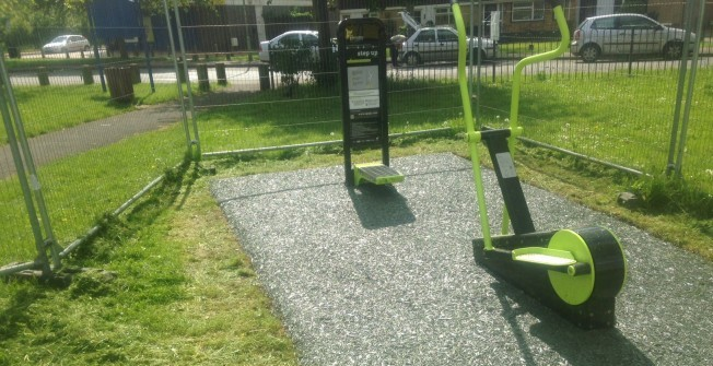 External Gyms Surfacing in West Dunbartonshire