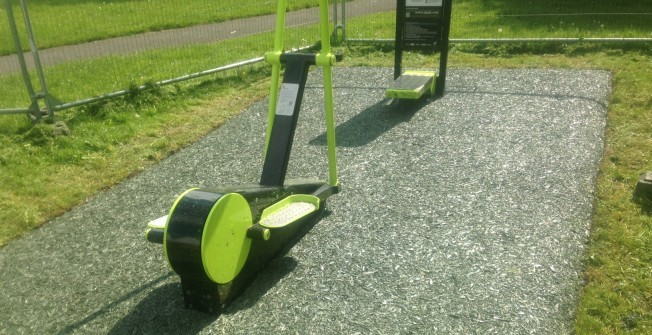 Outdoor Exercise Station in Aberffraw